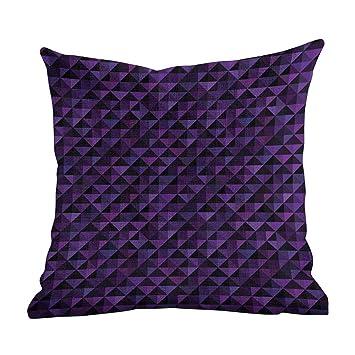 Amazon.com: Funda de almohada estándar geométrica, patrón ...
