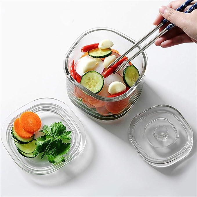 didatecar Tapas De Fermentaci/ón con Esclusa De Aire para Conservar Tarros Chucrut Kimchi Fermentar Tapas De Tarros Encurtidos para Verduras