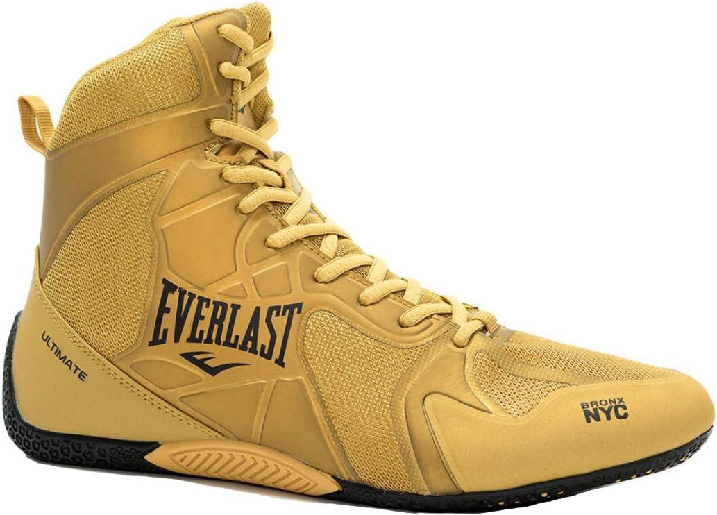 Everlast P00001078 - Zapatillas de boxeo unisex para adultos, color Amarillo, talla 38 EU: Amazon.es: Deportes y aire libre