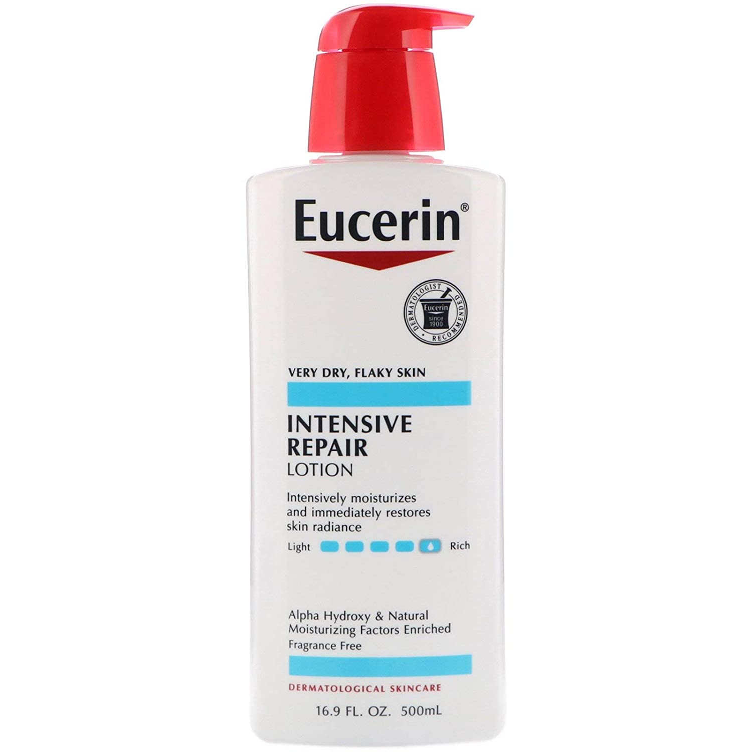Eucerin Intensive Repair Enriched Lotion, 16.9 Fl Oz (Pack of 1)