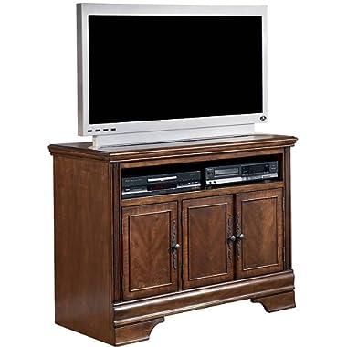 Ashley Furniture Signature Design - Hamlyn TV Stand - 42 in - Modern Styling - Dark Brown