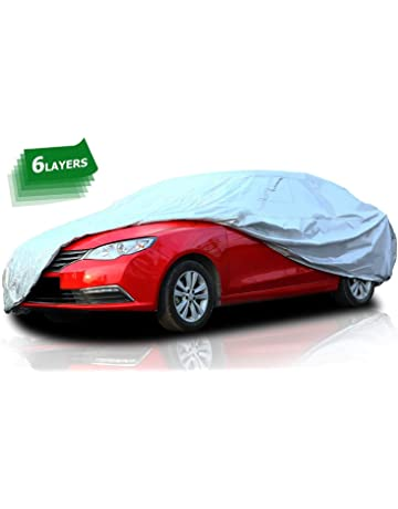 06- WINTER HEAVY DUTY FULL CAR COVER COTTON LINED FOR SKODA ROOMSTER SE