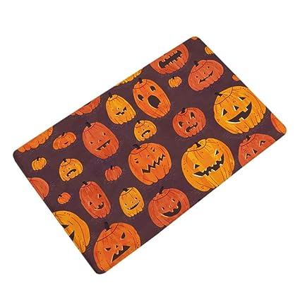 fabal halloween home non slip door floor mats hall rugs kitchen bathroom carpet decor h