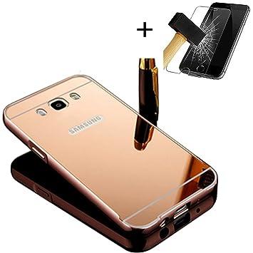 PANXYUE Carcasa Samsung Galaxy J5 (2016) J510 Aluminio ...