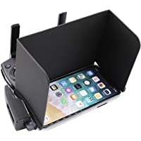 Anbee Foldable Smart Phone Sun Hood, Cell Phone Sunshade Support iPhone X/XS for DJI Mavic Pro / Spark / Phantom / Inspire / Mavic 2 / Parrot Anafi Drone