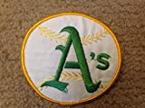 "1970 VINTAGE OAKLAND ATHLETICS PATCH EMBROIDERED 4"" OLD STORE STOCK"