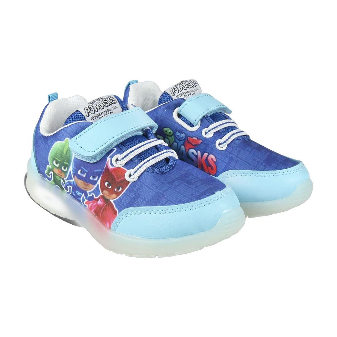 PJ Masks Héroes en pijamas Zapatillas Deportiva - Para Niño - 22-3097 [Azul Claro - PJ Masks - 26]: Amazon.es: Zapatos y complementos