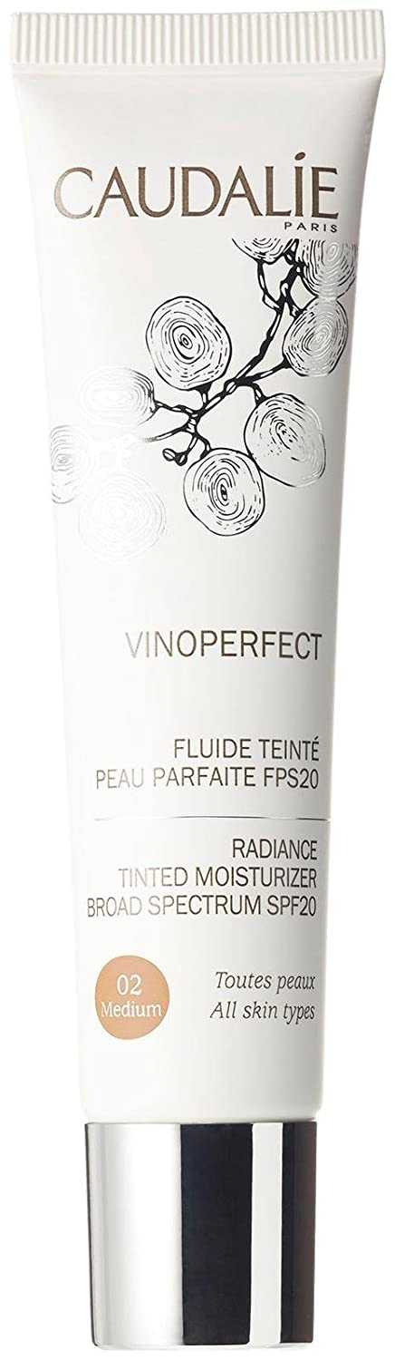 Caudalie Vinoperfect Radiance Tinted Moisturizer Broad Spectrum SPF 20 - #02 Medium 40ml CAUDALIE ITALIA Srl 27454