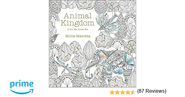 Animal Kingdom Color Me Draw Amazonca Millie Marotta Books