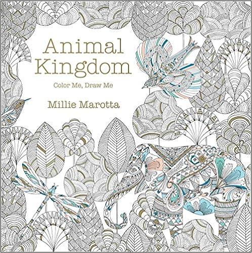 Animal Kingdom Color Me Draw Me