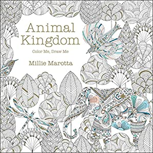 Animal Kingdom Color Me Draw Millie Marotta Adult Coloring Book