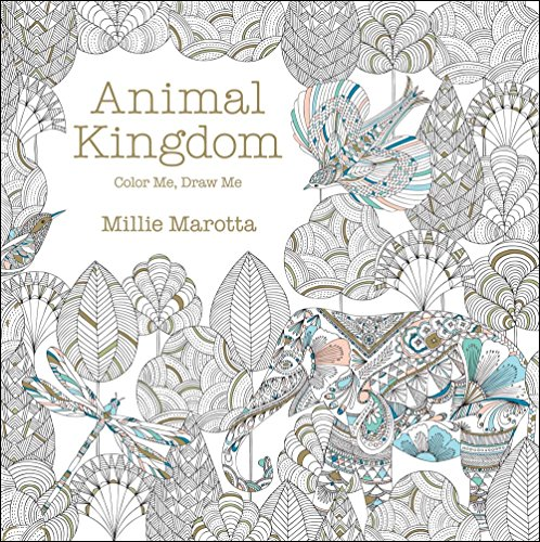 Animal Kingdom Color Me Draw A Millie Marotta Adult Coloring Book