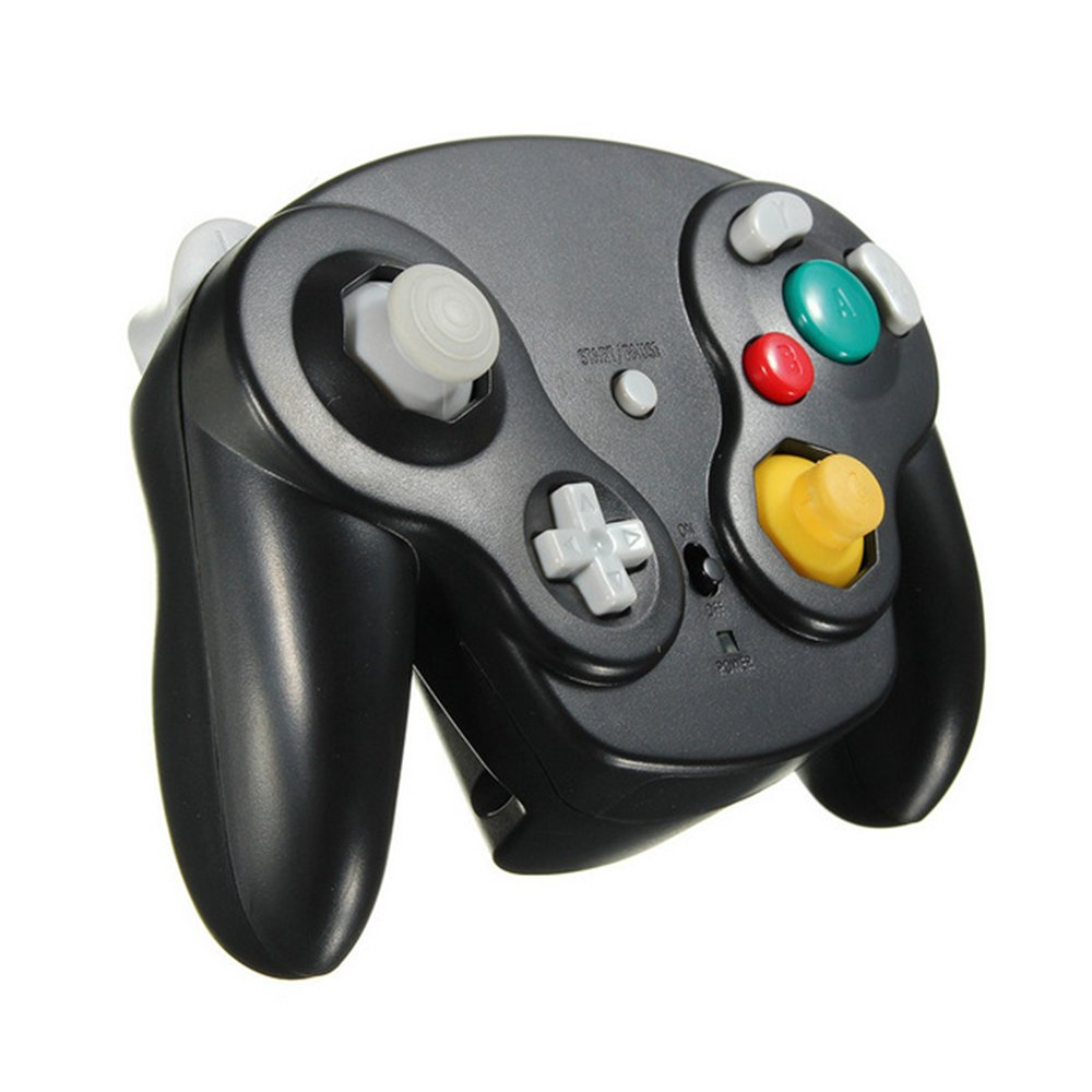ElementDigital Wireless Game Controller 2.4G Gamepad Joystick Joypad Precise Control for Gamecube Interface Nintendo GC NGC Wii Wii U Console