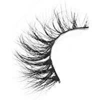 3D Mink False Eyelashes - FEITA High Volume 3D Layered Effect Mink Fur Lashes - Dramatic Round Look - 100% Handmade & Cruelty-Free (A14)