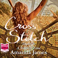 Cross Stitch Audiobook by Amanda James Narrated by Antonia Beamish