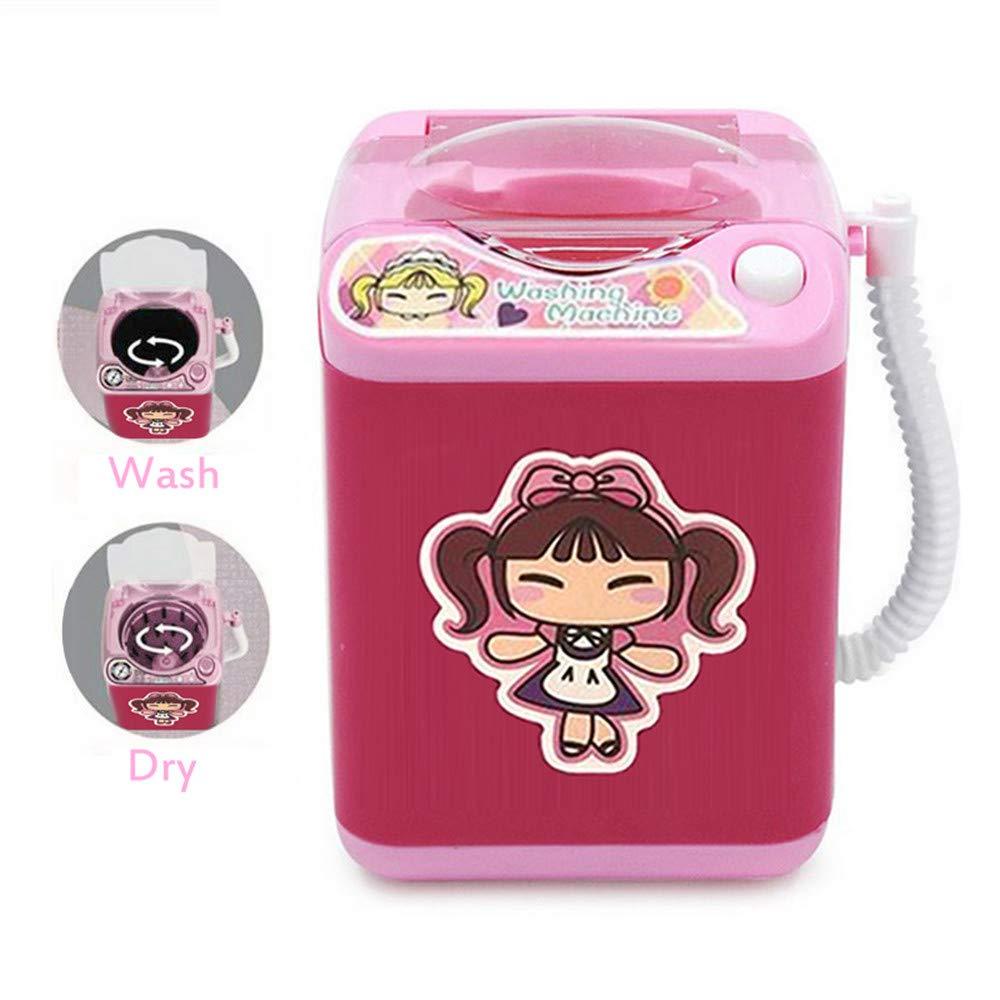 Mini limpiador de brochas de maquillaje para lavandería automático ...