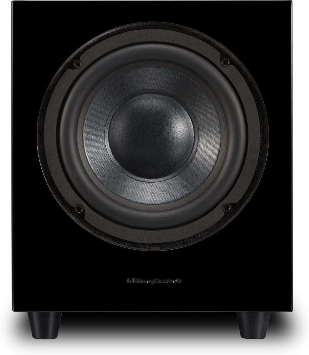 Wharfedale Subwoofer Activo wh-d10/Potencia MAX 300/W Color Negro