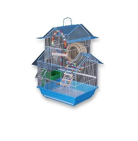 Yanxinenjoy Accesorios de Jaula de pájaros Grandes para pájaros ...