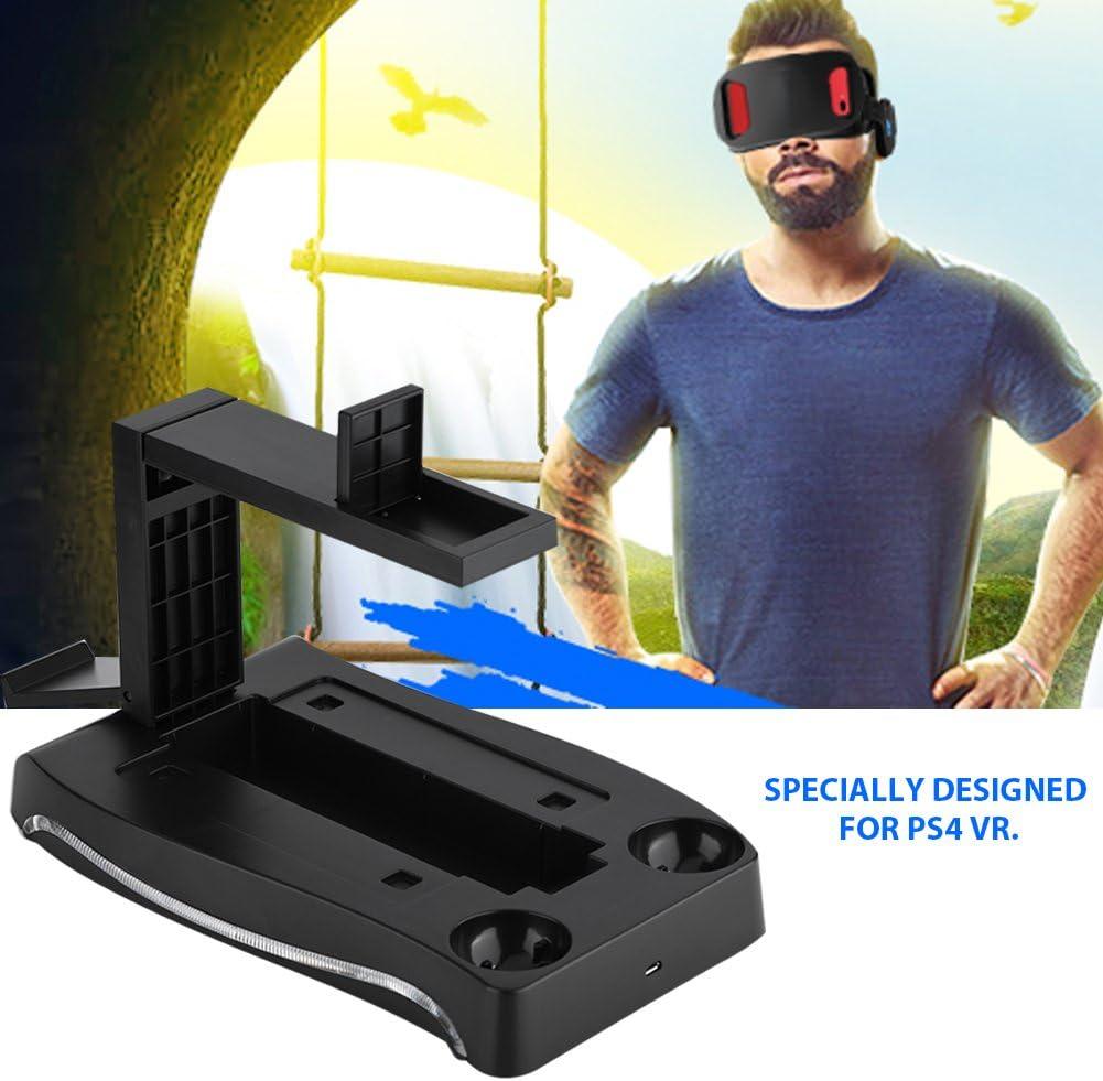 Zerone Estación de Carga para PS4 VR, Soporte de Auriculares 4 en ...