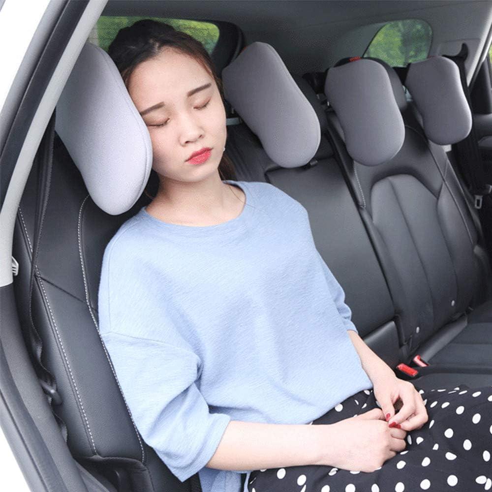 Spurtar Nackenkissen Auto H/öhe einstellbar Kopfst/ütze Auto Kinder f/ür kinder und erwachsene Nackenst/ütze Auto zum Schlafen weichem ged/ächtnisschaum Beige