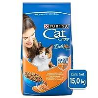 Purina - Cat Chow Comida para Gato, Adulto, Deli Mix, 15.0 kg