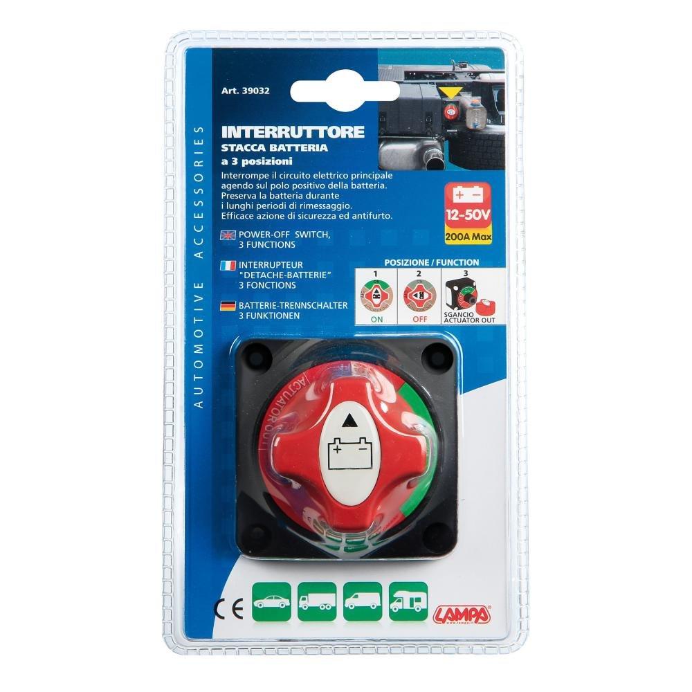 Lampa 39032 Interruttore Stacca-Batteria