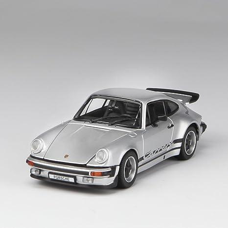 Amazon.com: Kyosho Diecast Porsche 911 Carrera 2.7 (1:43 Scale), Silver: Toys & Games