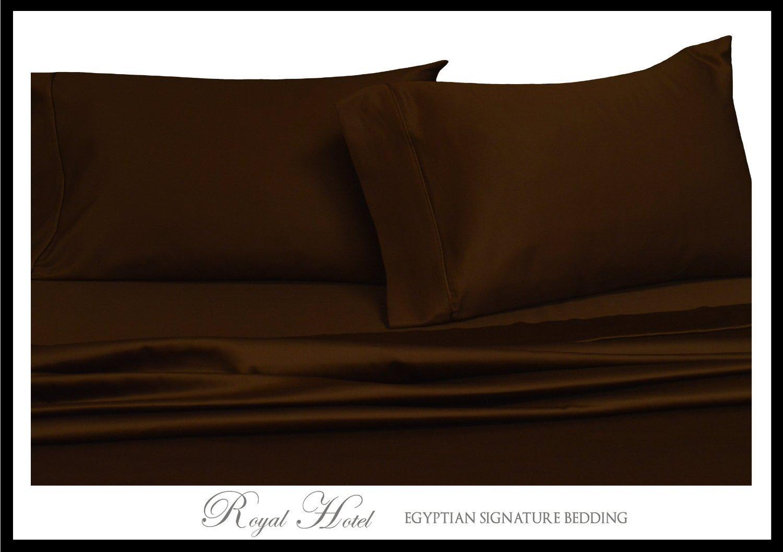 deep Pocket 95gsm 100/% Luxury Sheets Royal Hotel Full Solid Gray Wrinkle-Free Brushed Microfiber Sheet Set Royal Hotel Bedding