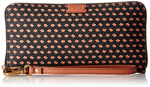 Fossil Emma Large Zip Wallet Rfid