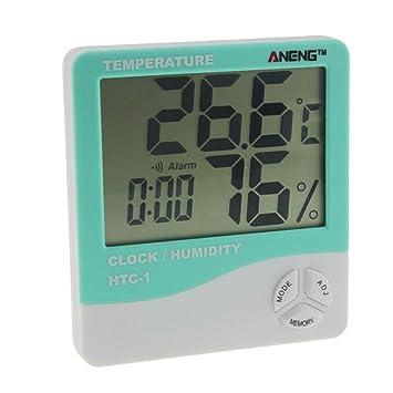 Winkey Temperatura Medidor de humedad, interior habitación LCD electrónico de temperatura medidor de humedad termómetro