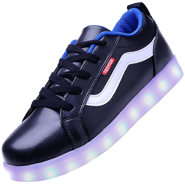 Amazon | Odema Men USB Charging LED Sport Shoes Flashing Sneakers |  Fashion Sneakers