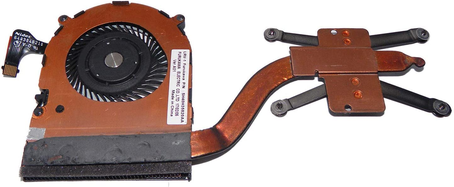 New CPU Cooling Fan with Heatsink Replacement for IBM Lenovo Thinkpad X1C X1 Carbon 4th 2016 P/N:00JT800 01AVW976