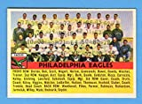 Philadelphia Eagles 1956 Topps Football Team Card **Original Card in Excellent Condition or Better**No marks or creases**