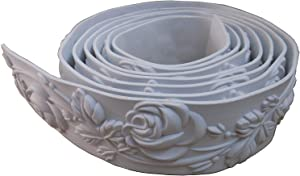 Ceiling Flexible Mouldings Wall Trim Focal Point Edge Furniture Home Decorative Waist Line 2.36
