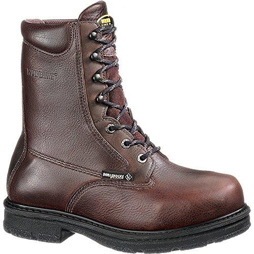 Fusion Stål Tå Eh 8 Arbete Boot Choklad