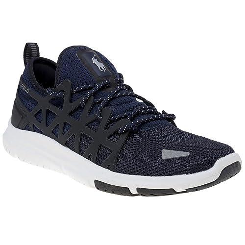 Polo Ralph Lauren Train 200 Hombre Zapatillas Azul  Amazon.es  Zapatos y  complementos 1b1683fb375