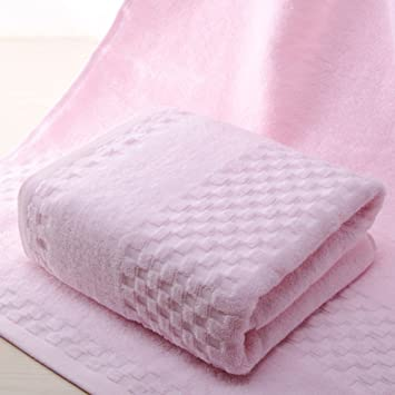 toalla de baño/Hombre absorbente adulto mujer pareja puro algodón toalla de baño/ pelo no espesar más toallas/ baño toallas de los niños envueltos-D: ...