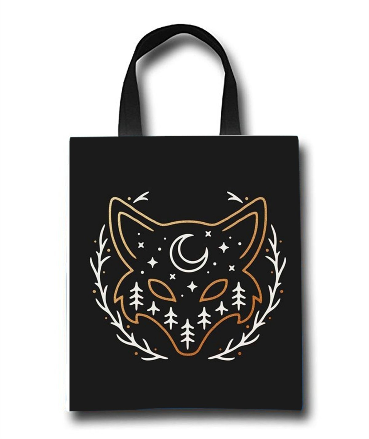 Fox Beach Tote Bag - Toy Tote Bag - Large Lightweight Market, Grocery & Picnic