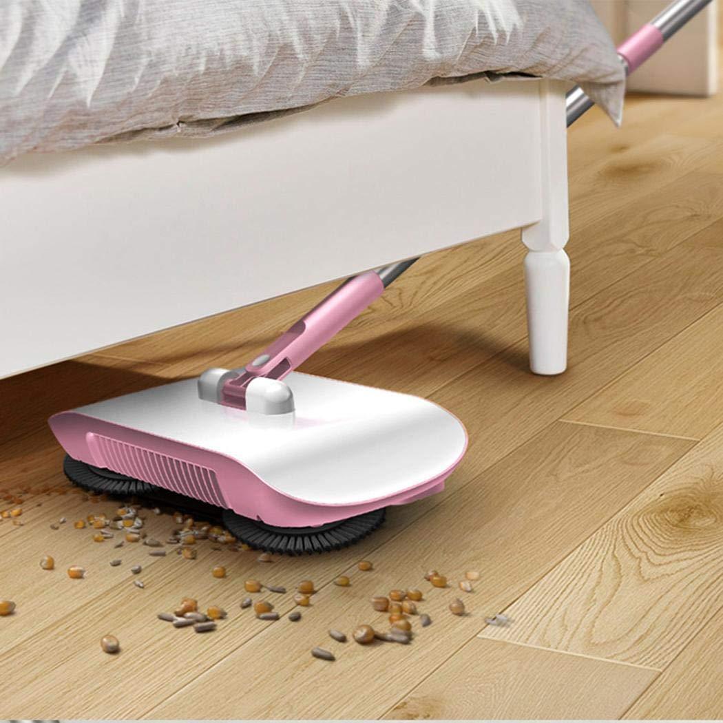 uswine 2 in 1 Hand Push Home Sweeper Besen Kehrschaufel Set Staubsauger Reinigungszubeh/ör