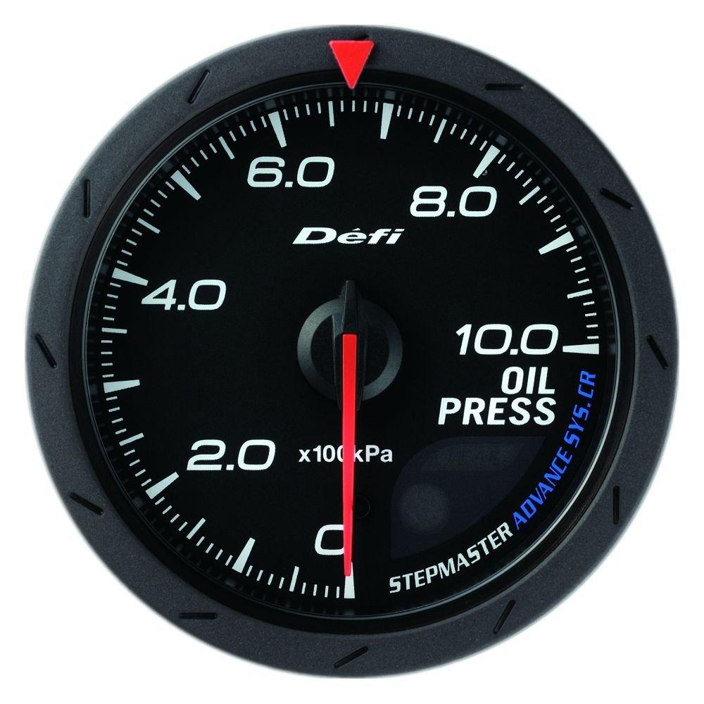 日本精機 Defi (デフィ) メーター【Defi-Link ADVANCE CR】油圧計 60φ (ブラック) DF08902 B0033J3YM6 ブラック ブラック