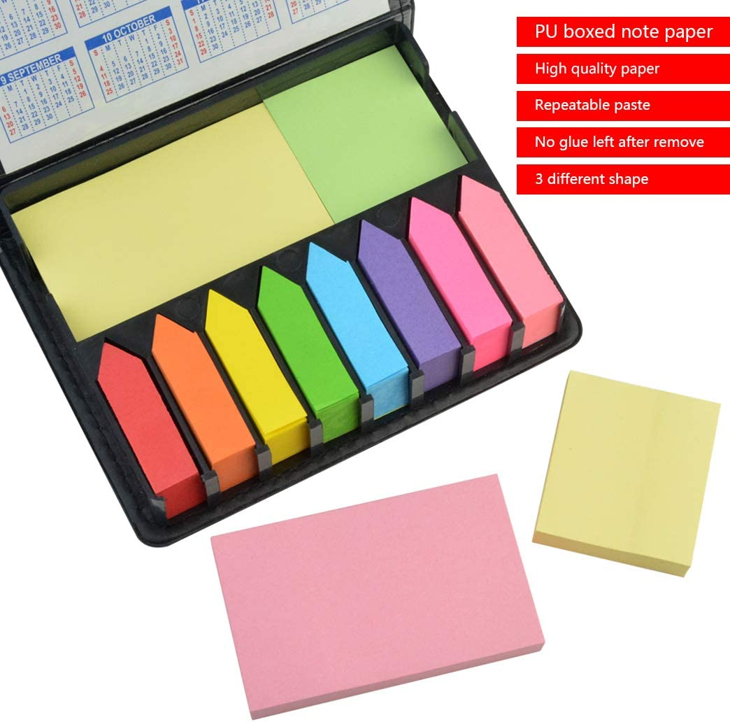 Fluo 2000 Pieces Page Markers Tabs Page Flags Sticky Index Tabs Arrow Flag Tabs
