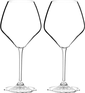 Riedel Heart To Heart Non-leaded Pinot Noir Wine Glasses, Set of 2