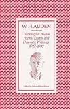 The English Auden, W. H. Auden, 0571115020