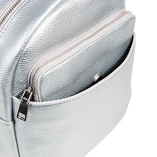 Kangaroo Silvered Backpack Parfois Women Silvered Women Parfois Kangaroo Parfois Kangaroo Backpack UtrwtH7q