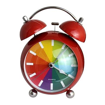 Amazon Com Mechanical Alarm Wind Up Clock Alarm Clock Double Bell