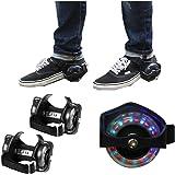 Qulista Flashing Roller Patines Dos Ruedas Luminosas para Zapatos Juguetes y Juegos para Niños Más de