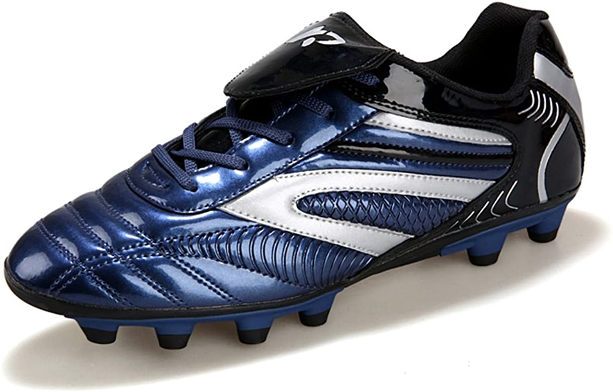 e8f1068e5 YING LAN Men's Boys Turf Cleats Soccer Athletic Football Outdoor/Indoor  Sports Shoes AG