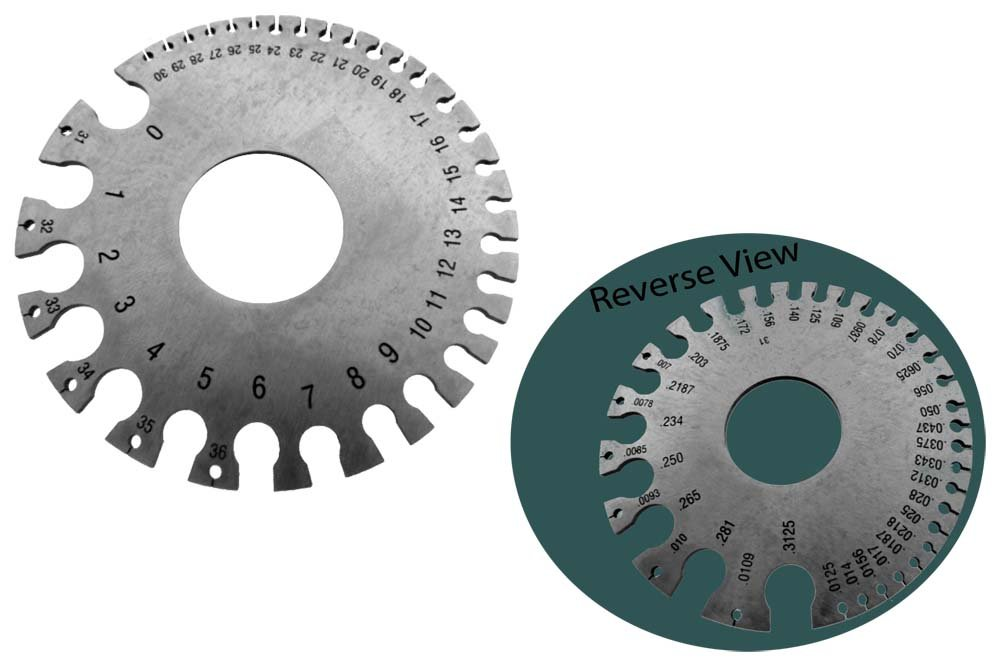 Gauge For Sheet And Plate Iron And Steel - Wire Strippers - Amazon.com