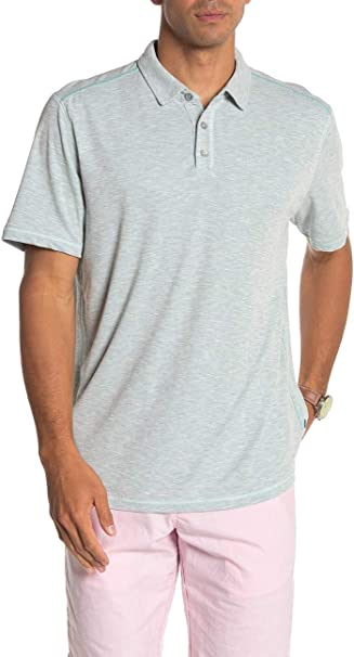 Tommy Bahama Flip Tide Spectator Golf Polo Shirt (XX-Large, Blue ...