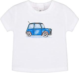 mayoral - T-Shirt m/c pour Bébé garçon - 1004, BLC-Royal